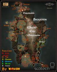 gothic 4 zemljevid + lokacije collectable reči