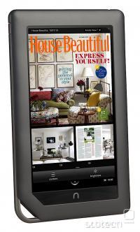 Barvni zaslon odpira vrata barvnim revijam in časopisom v digitalni obliki