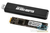 Nov modul poleg USB adapterja za star modul, vzet iz prenosnika