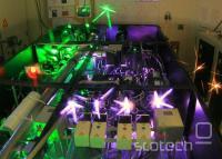 Del peta vatnega laserja Hercules v lasti Michiganske univerze.