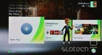Nov vmesnik na Xbox 360