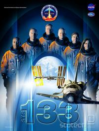Poster misije STS-133