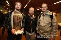 Z leve: Fredrik Neij, Gottfrid Svartholm in Peter Sunde