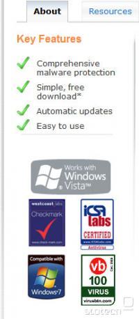 Microsoft Security Essentials - nagrade