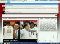 ESPN kot prvi predlog ob pritisku tipke e - v ozadju naložen 'instantno'