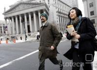 Sergey Aleynikov s svojo odvetnico Sabrina Shroff
