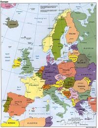 Evropa v 90-ih letih