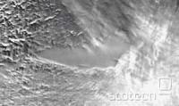 Posnetek jezera Vostok s satelitskim radarskim sondiranjem