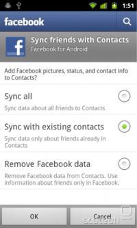 Različne možnosti za prenos podatkov s Facebooka
