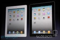 iPad 2 v beli in črni barvi
