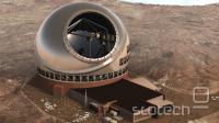 Umetnikova uprizoritev novega teleskopa