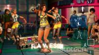 Kinectovo zajemanje premikov s kamero je idealno za plesne igre (na sliki Harmonixov Dance Central)