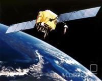 Satelit GPS v orbiti
