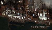 Sreda, satelitski posnetek poškodovane elektrarne