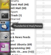 Thunderbird Unity Launcher Integration