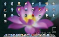 Lion predstavlja združitev nekaterih lastnosti OS X in iOS, kjer je bil prvi sploh osnova za slednjega