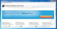 Internet Explorer 10 v prvi predogledni različici - podobno kot z IE9 je funkcionalnost izredno omejena