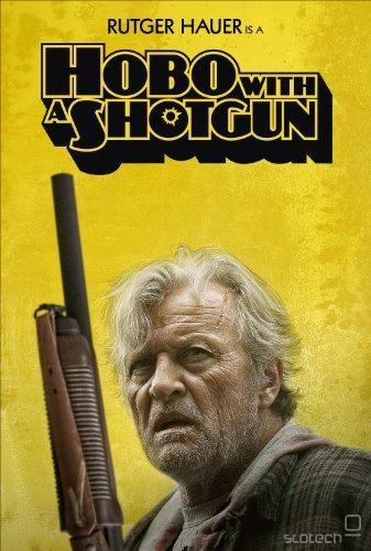 Poster za Hobo with a shotgun. Vir: amazon.com