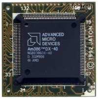AMD-jev procesor tiktakajoč pri 40 MHz