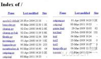 Na seznamu datotek so vidne številne python skripte