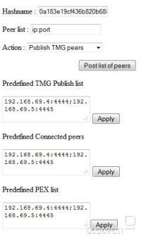 Spletni vmesnik za objavo ponarejenih eD2k datotek