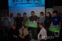 Predstavitev rezultatov prvega razpisa za razvoj aplikacij Android v Sloveniji, Sanja Križan in Gregor Kastelic, 01. jun 2010