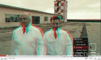 Izbira načina stereoskopskega 3D prikaza