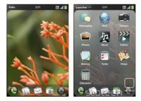 webOS na mobilnem telefonu