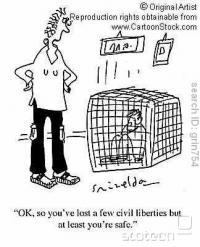 """""""če nismo varni, ne moremo biti svobodni."""""""
