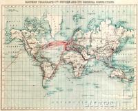 Telegrafski podmorski kabli, 1901