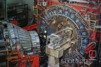 Detektor CDF, ki je zaznal novi delec.