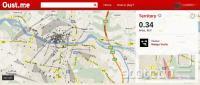 Oust.me vodi teritorije po lepem številu večjih slovenskih in tujih krajev.