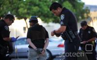 Uspešna aretacija na eni od predvidenih 'vročih točk'.