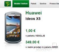 TUŠ brezmejni nateg: 349 EUR = 80 USD