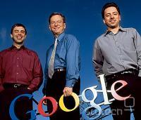 Sergey Brin, Eric Schmidt, Larry Page