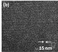 Posnetek zapisa z gostoto 3,3 terabita na kvadratni palec z elektronskim mikroskopom