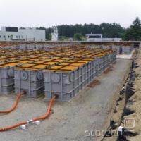 Rezervoarji radioaktivne hladilne vode v Fukušimi