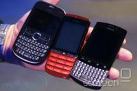 Cenejši modeli Asha 200, 300 (touch screen + T9 tipkovnica!), 303.