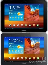 Originalni Galaxy Tab 10.1 (zgoraj) in novi Galaxy Tab 10.1n
