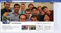 Facebook timeline. Na desni so letnice - od zdaj pa za 20+ let nazaj. Obveščevalne službe širom oble verjetno že hladijo šampanjec.