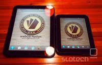 Izvorni 9.7'' TouchPad in njegov mlajši brat Go.