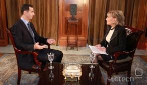 Al-Assad med decemberskim pogovorom z Barabaro Walters.