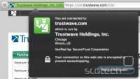 Trustwavov javni ključ je vključen v skoraj vse brskalnike, zato ti zaupajo vsem certifikatov, ki jih izda Trustwave, njihov reseller ali posvečeno podjetje.