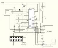 LCD TERMOMETER-SHEMA