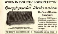 Oglas iz leta 1913, domala sto let nazaj.