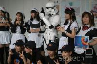 Launch party ene prihodnjih različic v tokijski tehnološki četrti Akhihabara.