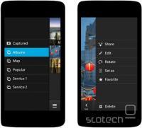 Aplikacija za upravljanje kamere.