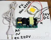 Povezan napajalnik LED 50W
