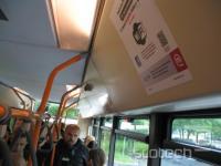 Avtobusi z internetno povezavo bodo znotraj in zunaj označeni s posebnimi simboli.