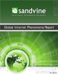 Sandvine izdeluje omrežno opremo za QoS, med drugim tudi motilce torrent povezav. Kot taki so ja v dobrem položaju za oceno količine p2p prometa.